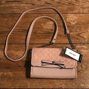 ✨NWT✨NINE WEST Pink crossbody purse